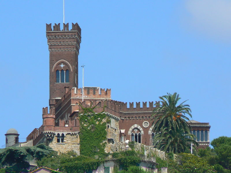 A Castle in the hills of Genova