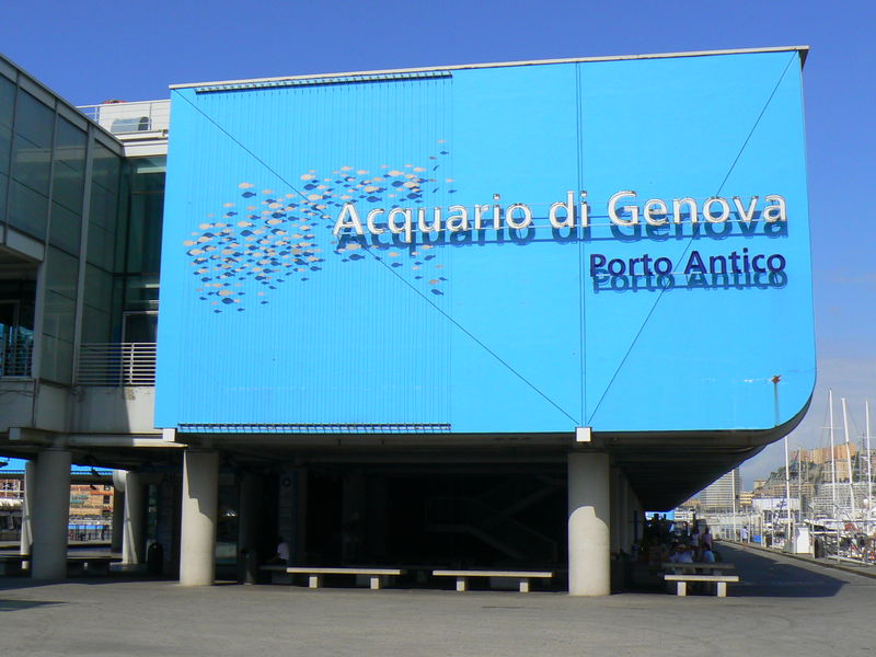 The Aquarium at the Old Port of Genova
