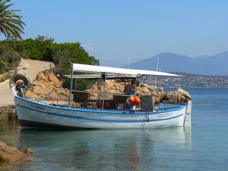 Porticcio, south of Ajaccio in Corsica