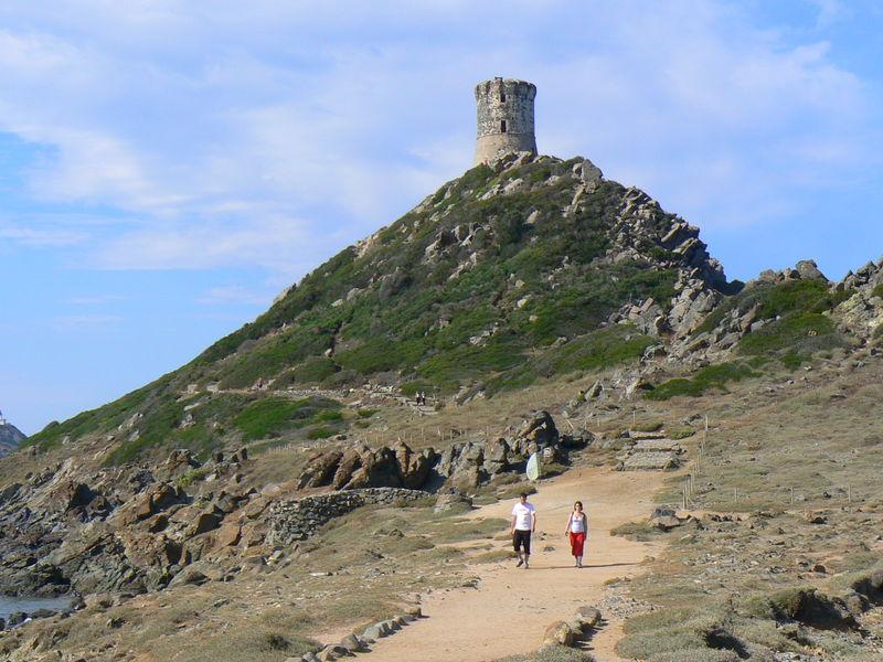 La Tour de la Perata - a watchtower built by the Genovese in 1608