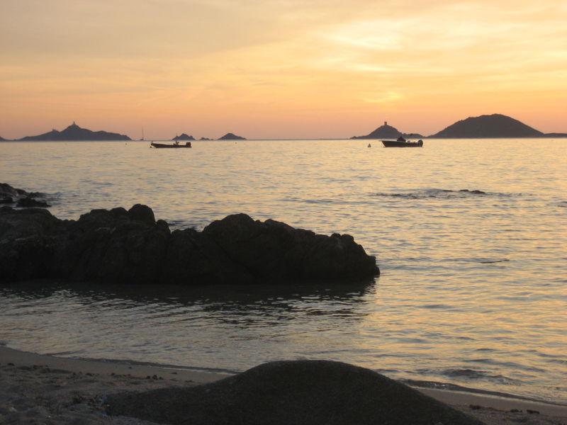 Les Îles Sanguinaires on the west coast of Corsica