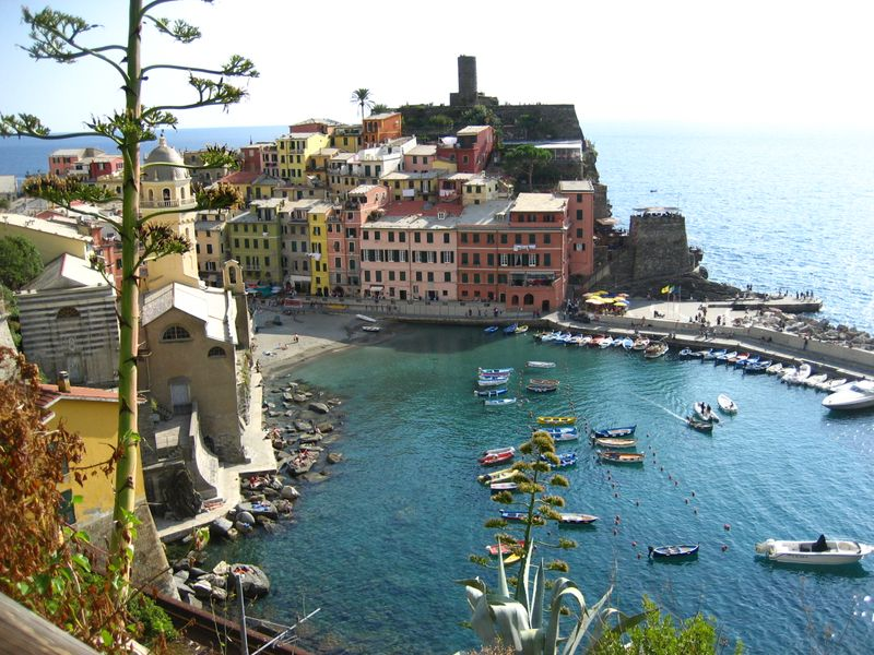 Our home base of Vernazza may be the most picturesque village in the Cinque Terre