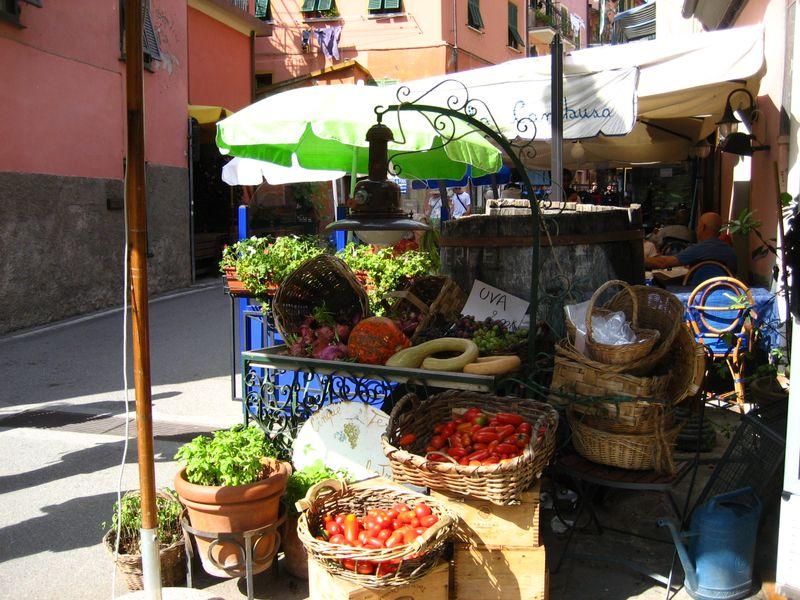 Produce Stand in Monterosso al Mare