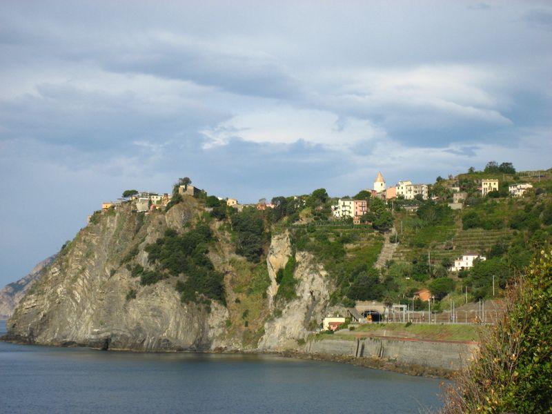 Corniglia in the Cinque Terre