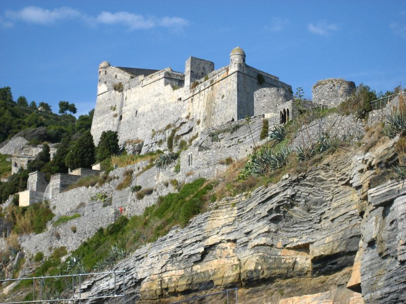 The Doria Castle in Portovenere