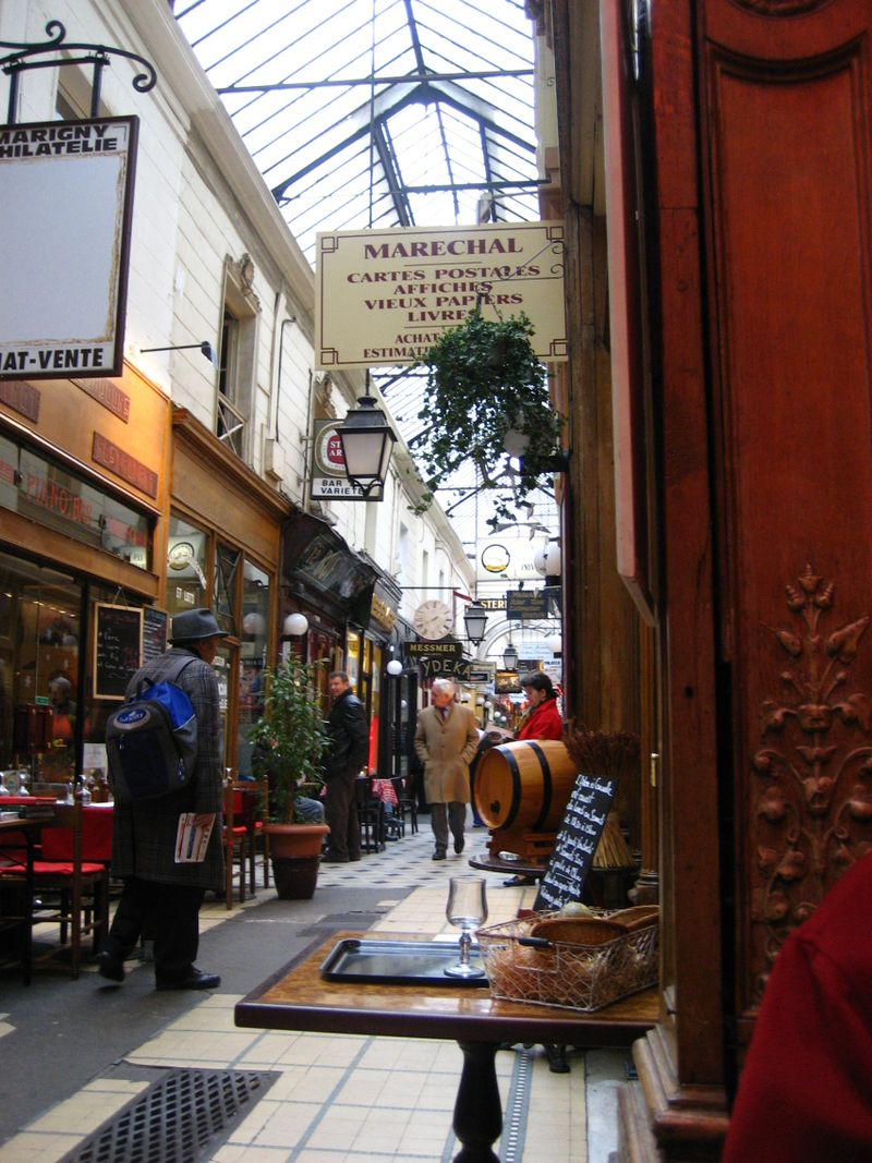 Passage des Panoramas in Paris