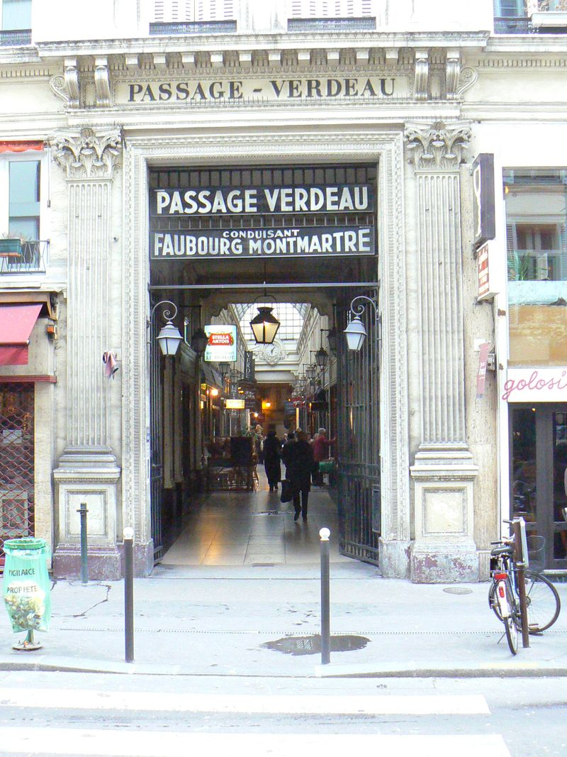 Passage Verdeau in Paris [Photo by David DeMoney]