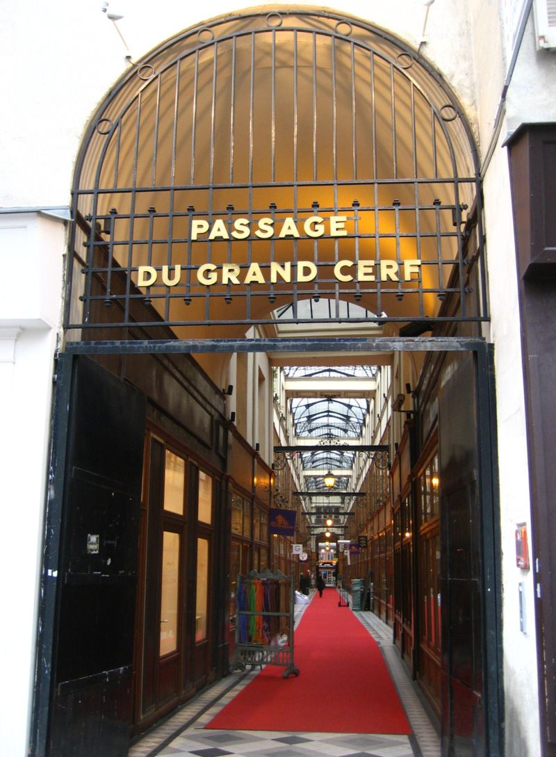 Passage du Grand Cerf in Paris