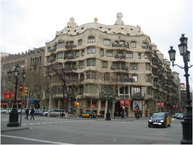 Gaudí's Casa Milà