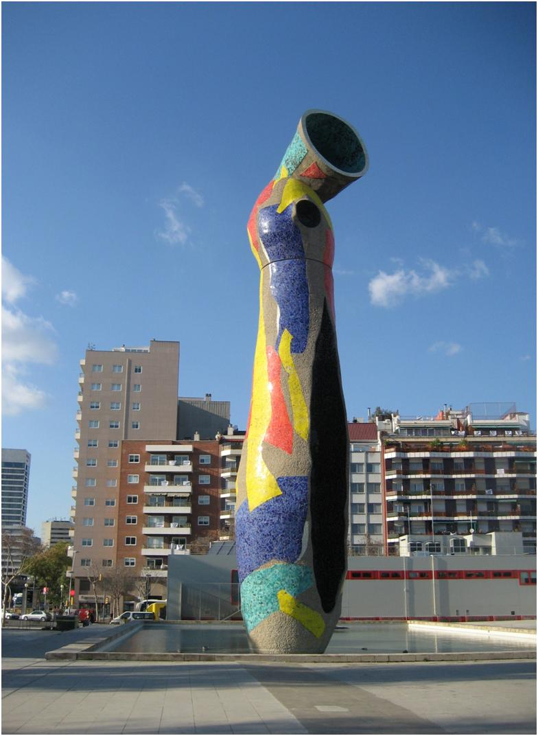 Street Sculpture by Joan Miró