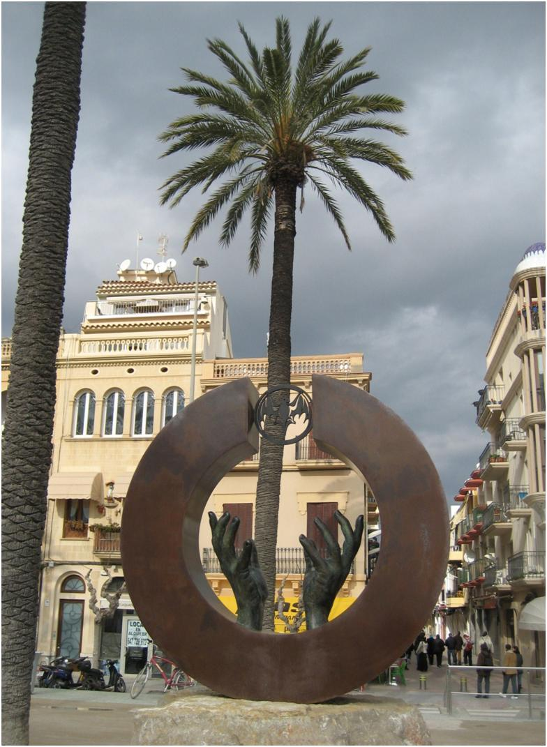 Sitges - 30 minutes by train south of Barcelona