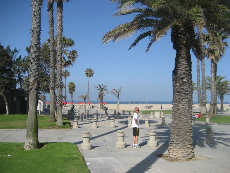 Beach at Santa Monica, California