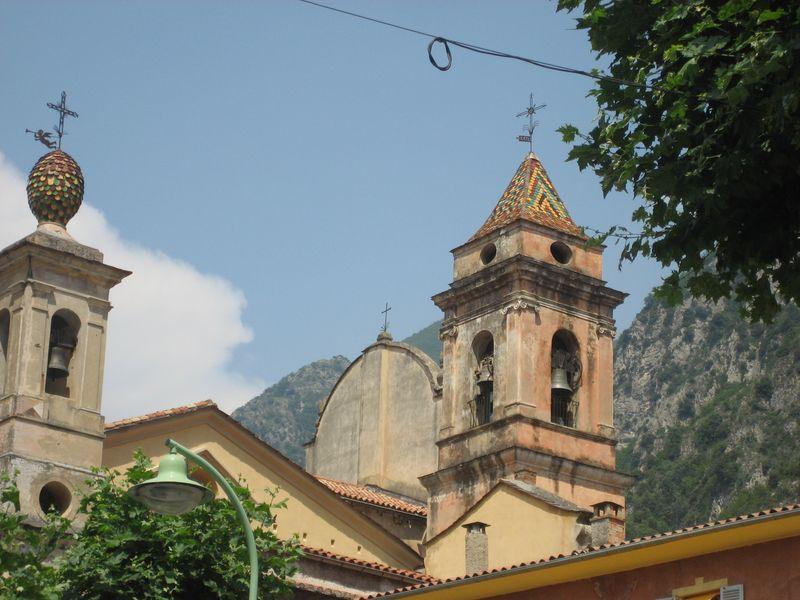 Sancta Maria-in-Albis Church in Breil-sur-Roya