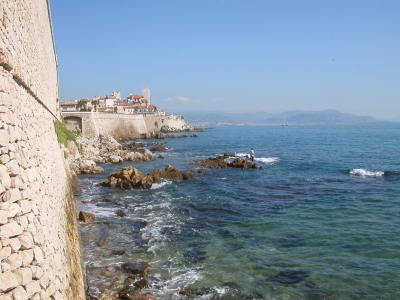 The Old Town of Antibes and its Ramparts