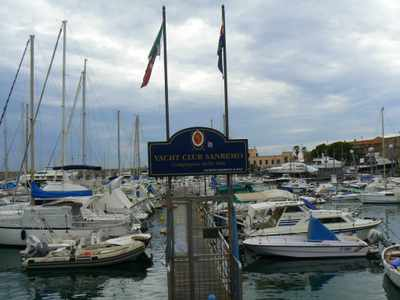 The Port of San Remo, Italy