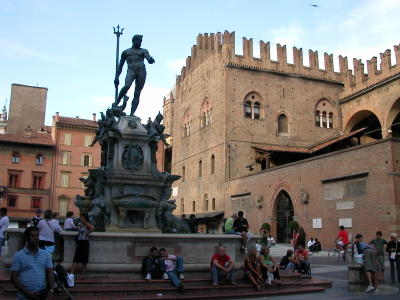 Piazza del Nettuno with the Fountain of Neptune