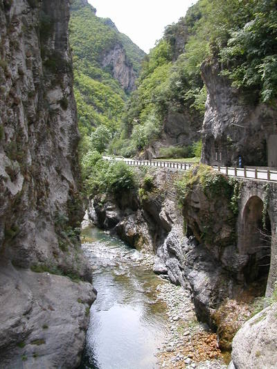 The River Vésubie