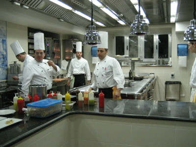 A kitchen tour of Ristorante Il Buco in Sorrento