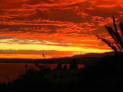 September Sunset in Villefranche-sur-Mer