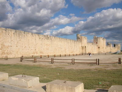 The Walled City of Aigues-Mortes in the Camargue