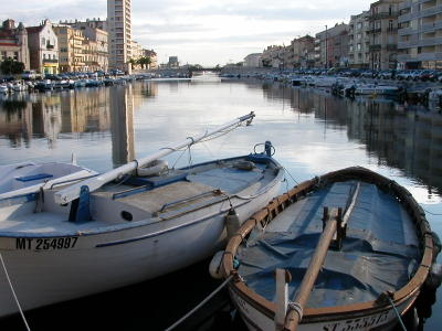 The Grand Canal in Sète