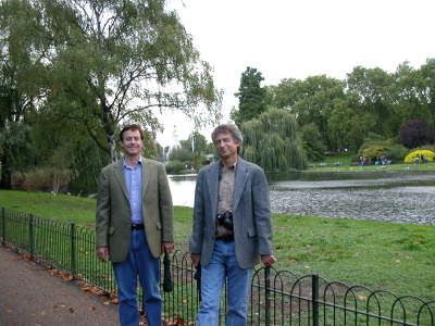 Mike & Dave in Saint James's Park