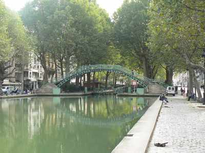 Canal St-Martin in Paris