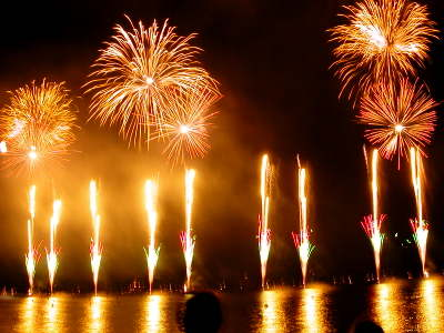 Cannes Fireworks Festival - Spain's Entry