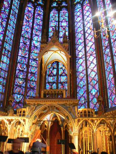 La Sainte Chapelle in Paris