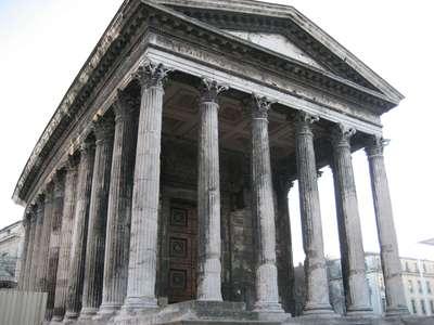 La Maison Carrée in Nîmes