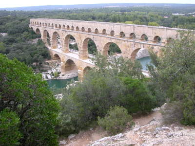 The Roman-Built Pont du Gard