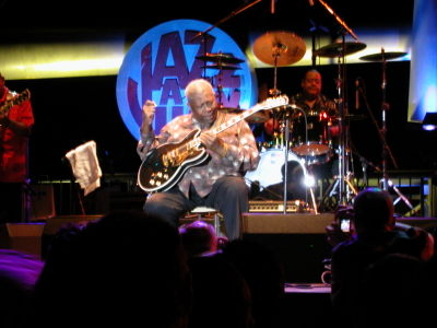 B.B. King's 80th-Birthday Tour at Jazz-à-Juan