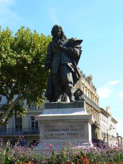 Pierre-Paul Riquet in Béziers