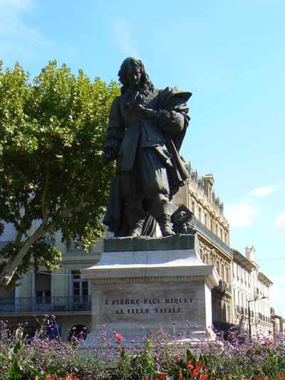 Pierre-Paul Riquet in Béziers