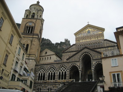 The Cathedral in the Village of Amalfi