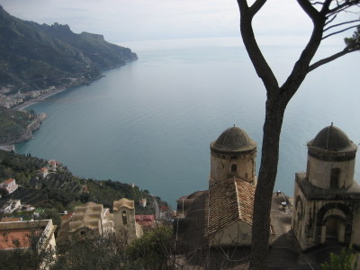 A View from Villa Rufolo in Ravello
