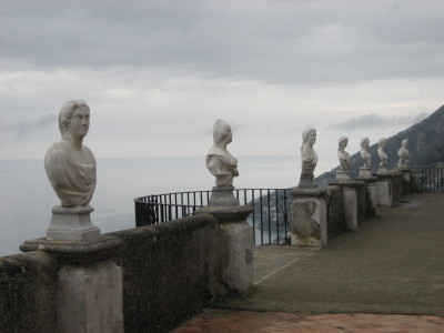 The Terrace of Infinity at Villa Cimbrone in Ravello