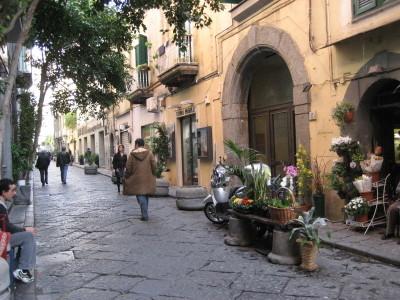The Chiaia Neighborhood of Naples