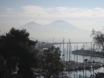 Mount Vesuvius in Naples