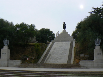 A Monument to Napoléon in Place d'Austerlitz in Ajaccio