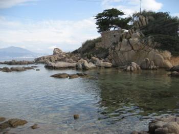 The Golfe d'Ajaccio in Corsica