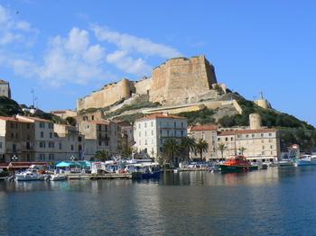 Bastion de l'Étendard is the name of the Citadel of Bonifacio