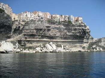 Bonifacio in Southern Corsica
