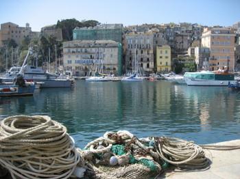 Bastia in Northern Corsica