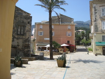 The Village of Erbalunga on Cap Corse