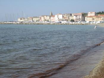 The Village of St-Florent on Cap Corse
