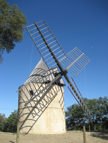Le Moulin de Paillas was restored in 2002