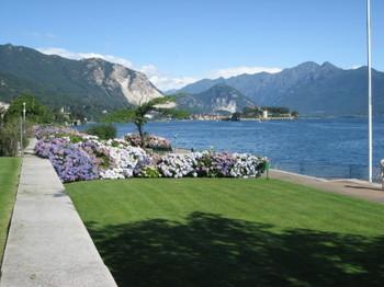 Lago di Maggiore from Stresa, Italy