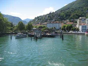 Locarno, Switzerland on Lago di Maggiore