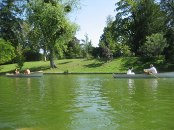 A Great Day for Rowing in Bois de Boulogne